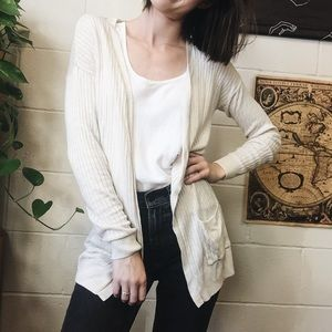 Tan lightweight cardigan